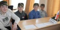 Игра «Морской бой»  среди «Юнармейцев» 5 класса.
